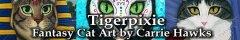 Tigerpixie Fantasy Art by Carrie Hawks