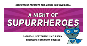 Nine Lives Gala 2019 @ Shoreline Community College