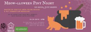 Meow-lloween Pint Night @ Flying Bike Cooperative Brewery